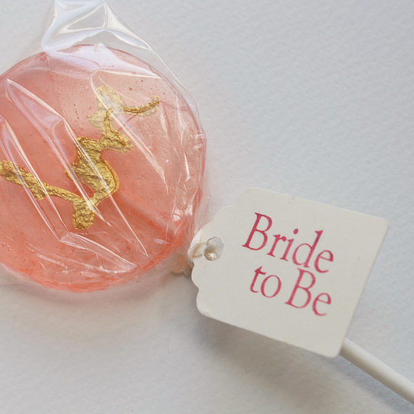 wedding lollipop favours