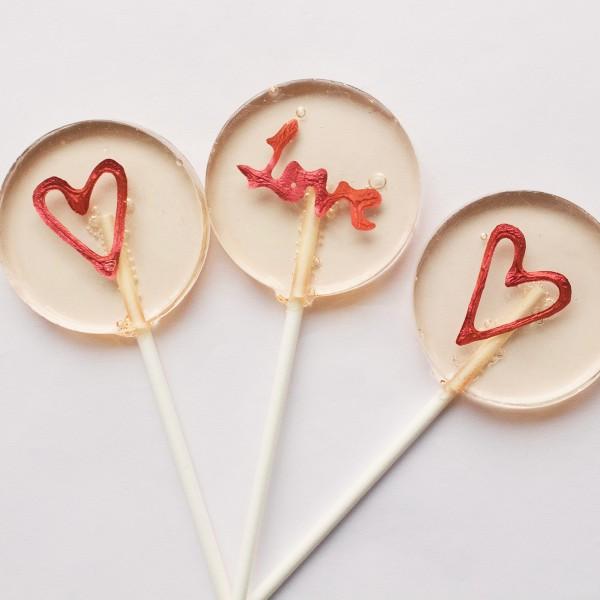 lollipop wedding favour