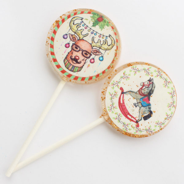 christmas lollipops