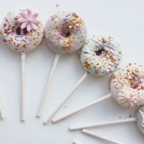 Mini donut pop