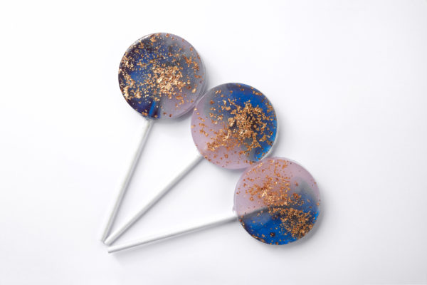 sparkling lollipops